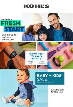 Department Stores offers in the Kohl's catalogue in Massillon OH ( Expires tomorrow )