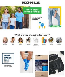 Department Stores offers in the Kohl's catalogue ( 3 days left )