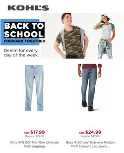 Department Stores deals in the Kohl's catalog ( 10 days left)