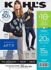 Catalogs with Kohl's deals in New York