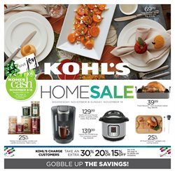 Department Stores deals in the Kohl's weekly ad in Los Angeles CA