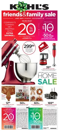 Kohl's deals in the San Diego CA weekly ad