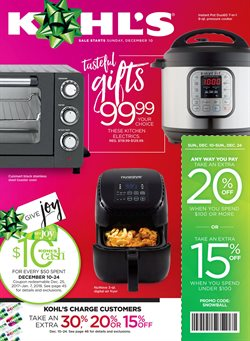 Kohl's deals in the Modesto CA weekly ad