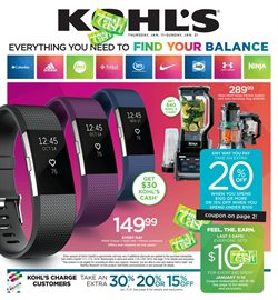 Department Stores deals in the Kohl's weekly ad in Columbus IN