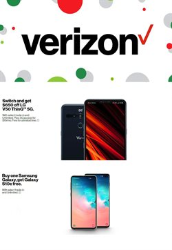 Verizon Wireless deals in the Houston TX weekly ad