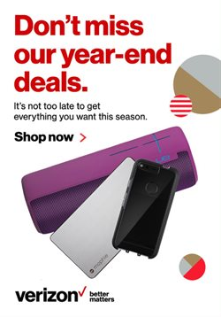 Sales deals in the Verizon Wireless weekly ad in Dallas TX