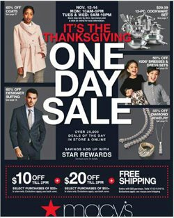 Macy's deals in the East Lansing MI weekly ad