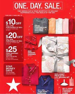 Department Stores deals in the Macy's weekly ad in Bayamon PR