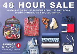 Department Stores deals in the Macy's weekly ad in New York