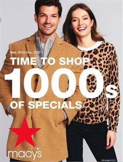 Department Stores deals in the Macy's weekly ad in Erie PA