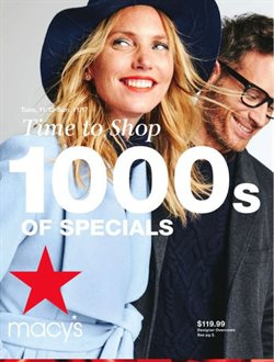 Department Stores deals in the Macy's weekly ad in Houston TX