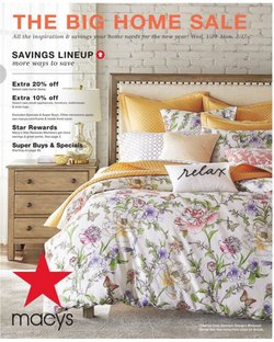 Department Stores deals in the Macy's weekly ad in Santa Ana CA