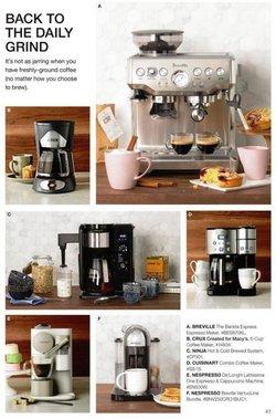 Coffee deals in Macy's