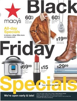 Department Stores offers in the Macy's catalogue in Lorain OH ( Published today )