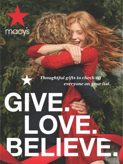 Macy's catalogue ( Expired )