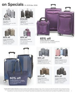 Delsey deals in the Macy's catalog ( 7 days left)