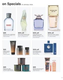 Hugo Boss deals in the Macy's catalog ( 5 days left)