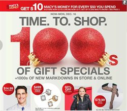 Macy's deals in the Stone Mountain GA weekly ad
