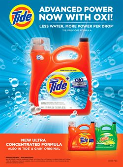 Tide deals in the Costco weekly ad in New York