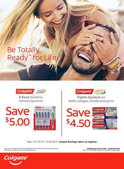 Colgate deals in the Costco weekly ad in Bothell WA