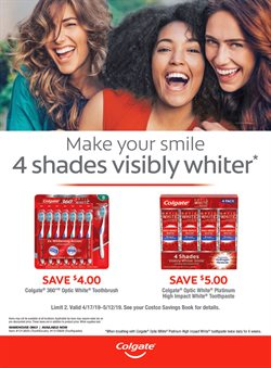 Colgate deals in the Costco weekly ad in Knoxville TN