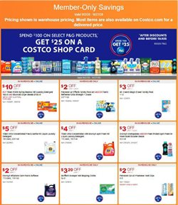 Discount Stores offers in the Costco catalogue in Walnut Creek CA ( 5 days left )