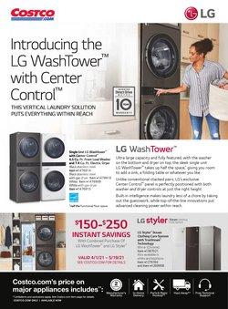 LG deals in Costco