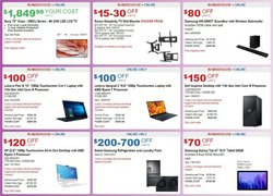 Samsung deals in the Costco catalog ( 25 days left)