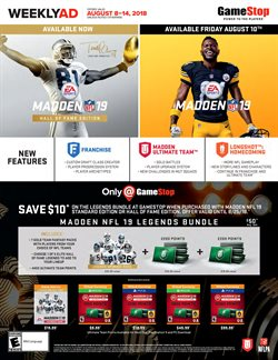 Electronics & Office Supplies deals in the Game Stop weekly ad in Knoxville TN