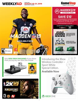 Electronics & Office Supplies deals in the Game Stop weekly ad in Santa Clara CA