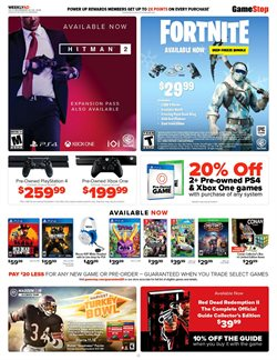 PlayStation 4 deals in the Game Stop weekly ad in New York