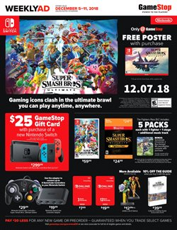 Game Stop deals in the New York weekly ad