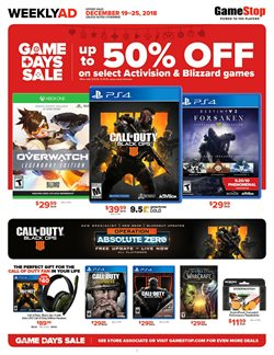 Electronics & Office Supplies deals in the Game Stop weekly ad in Fullerton CA