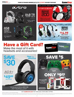 Computers & electronics deals in the Game Stop weekly ad in Garden Grove CA
