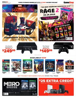 Xbox deals in the Game Stop weekly ad in New York