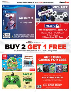 Xbox One deals in the Game Stop weekly ad in New York