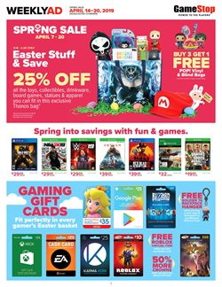 Electronics & Office Supplies deals in the Game Stop weekly ad in Federal Way WA