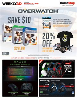Electronics & Office Supplies deals in the Game Stop weekly ad in Concord NC