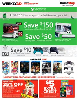 Electronics & Office Supplies deals in the Game Stop weekly ad in San Antonio TX