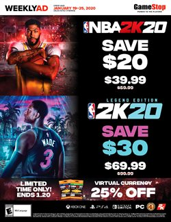 Game Stop deals in the Los Angeles CA weekly ad