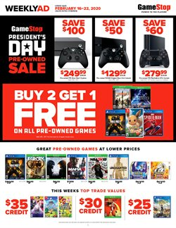 Electronics & Office Supplies offers in the Game Stop catalogue in Monroe NC ( 1 day ago )