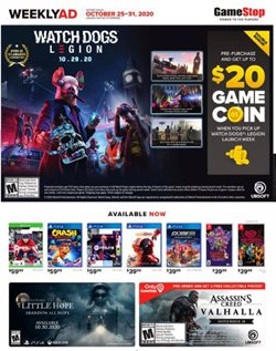 Game Stop catalog ( Expires today)