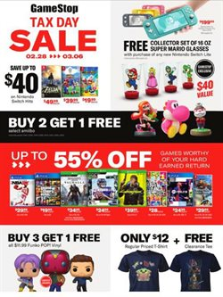 Games deals in Game Stop