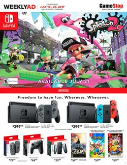 Electronics & Office Supplies deals in the Game Stop weekly ad in New York