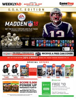 Game Stop deals in the Houston TX weekly ad