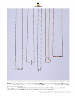 Necklace deals in the Nordstrom weekly ad in San Gabriel CA
