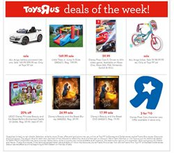 Toys R Us deals in the New York weekly ad