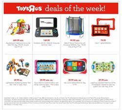 Toys R Us deals in the Miami FL weekly ad