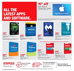 Staples deals in the Fontana CA weekly ad