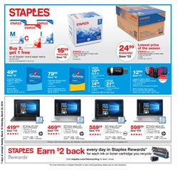Electronics & Office Supplies deals in the Staples weekly ad in New York